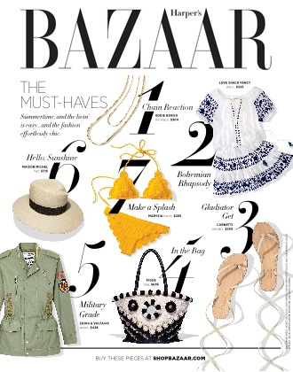 HARPER'S BAZAAR / June 2016 -- In Print