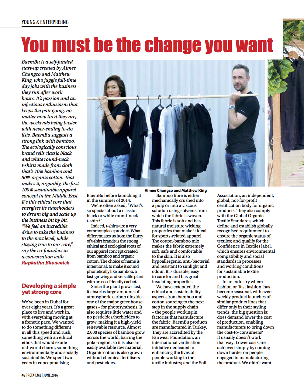 You must be the change you want, Images RetailME, June 2016.jpg