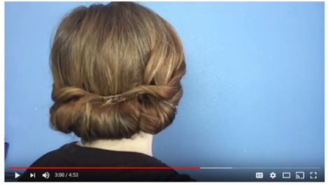 - 1918 Inspired Hair, 'The Roll Up': Part 11918 Inspired Hair, 'The Roll Up': Part 2