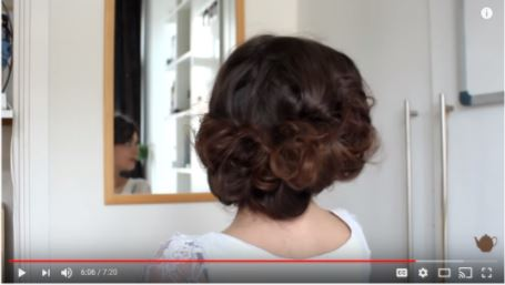 - Curly Lily Elsie Hairstyle