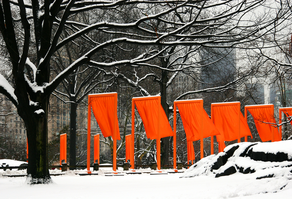 'The Gates,' Central Park, New York