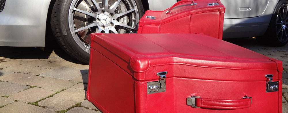 Mercedes SLS AMG Fitted Luggage