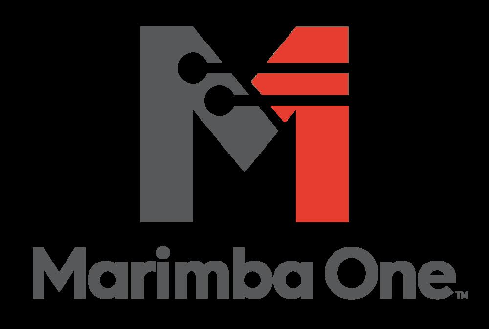 MarimbaOneLogo_Combo-ColorCharcoalRedPMS.png