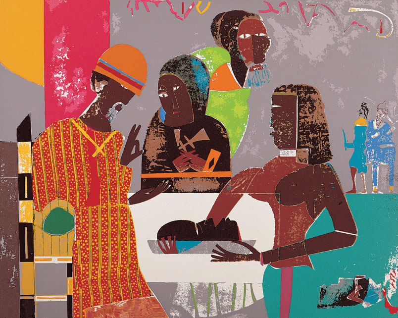 Salome by Romare Bearden