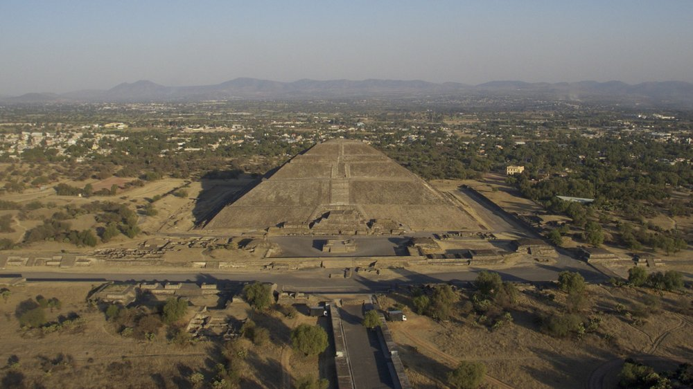 Teotihuacan ! Where the gods were born, apparently. So much mystery there.
