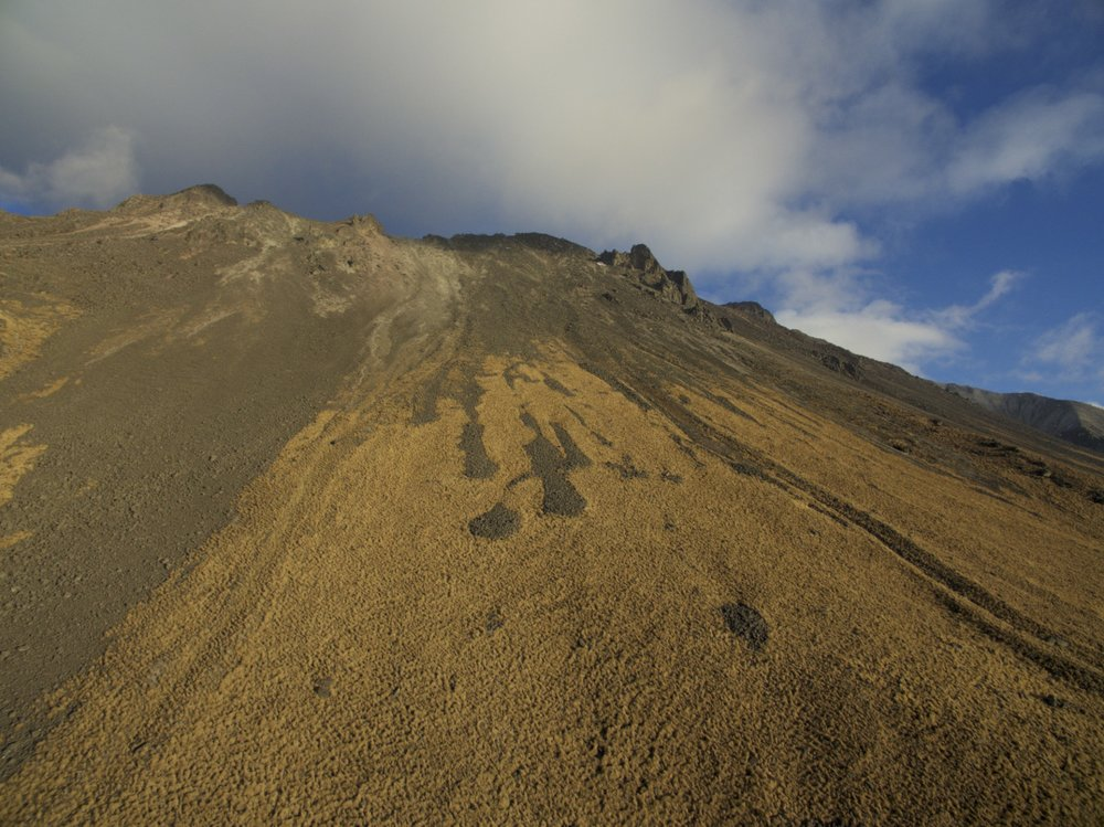 Nevado of Toluca, fourth highest volcanoe in Mexico.