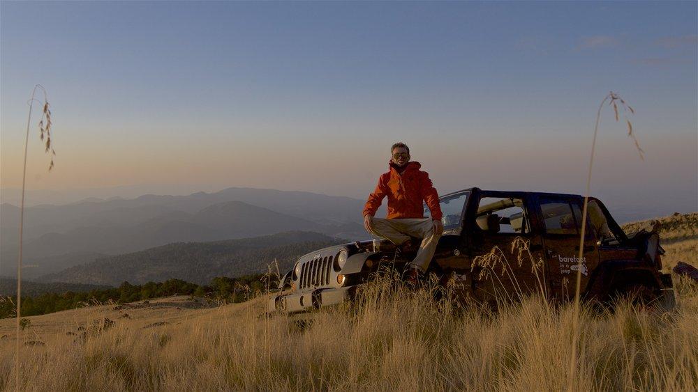 Nơi nào đó ở Mexico, độ cao 4120m.