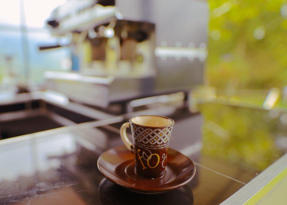 $0.50 espresso shot.