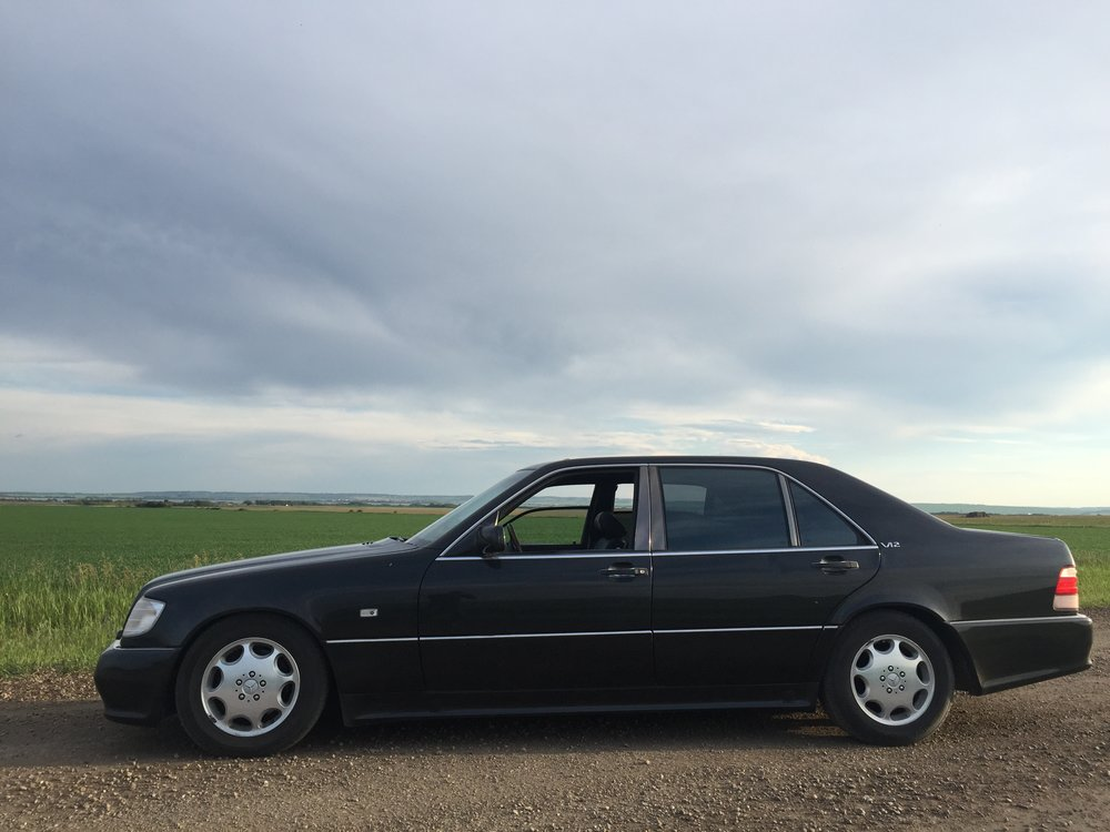 S600 1994 (unique AMG version), Grande Prairie, Alberta.