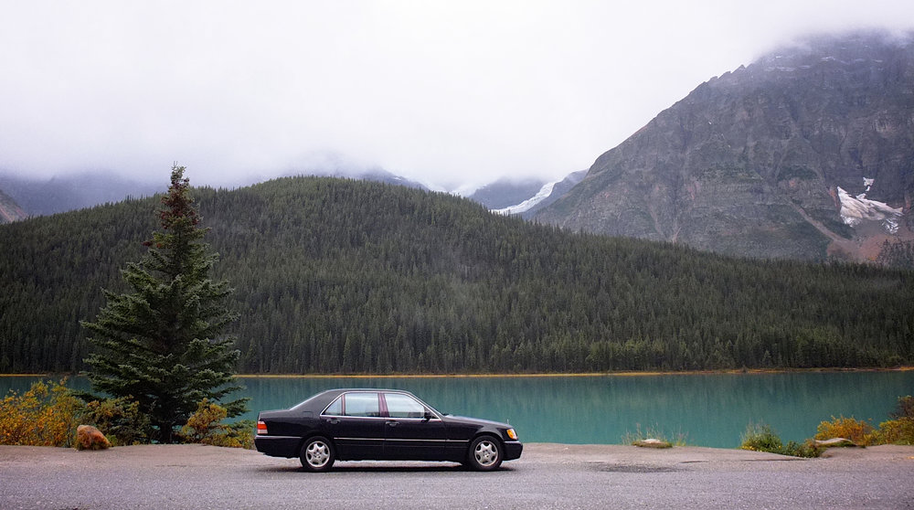S500 1998, Lake Louise, Alberta.