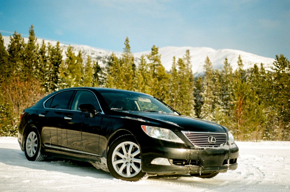 Lexus LS460 in Whitehorse, Yukon, Canada. Inferior to a W140 in every regard.