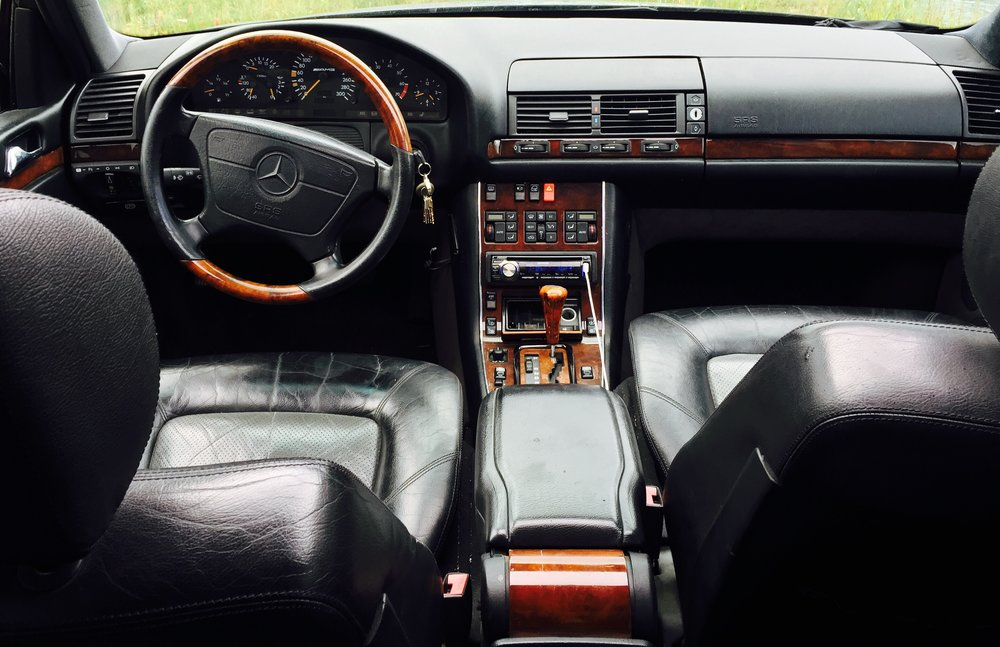 S600 AMG cockpit