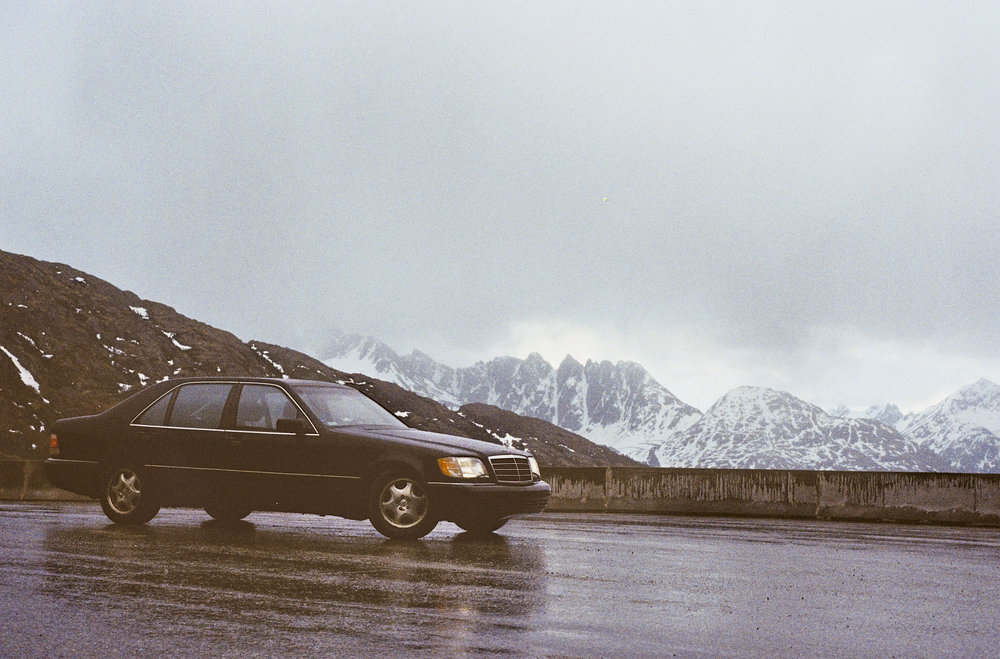 The almighty W140 S500, WhitePass, AK/YT.
