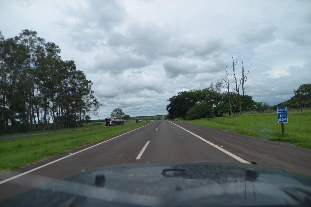 Brazilian highway