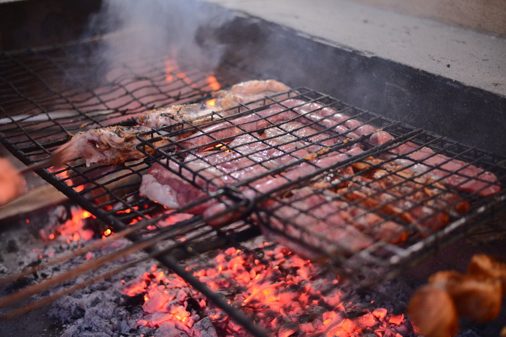 Braai: Social gathering around MEAT ON THE GRILL. Nothing compares to a braai.