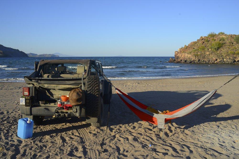 Living the dream in Baja California.