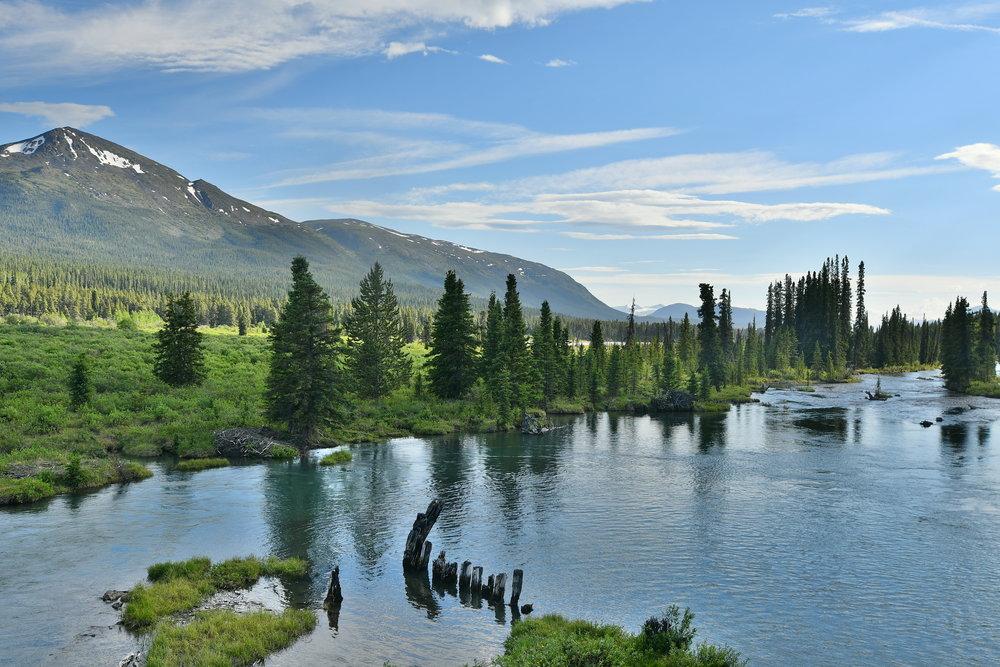 Home in Atlin, British Columbia.