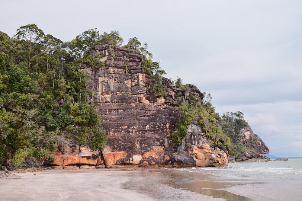 On Borneo Island.