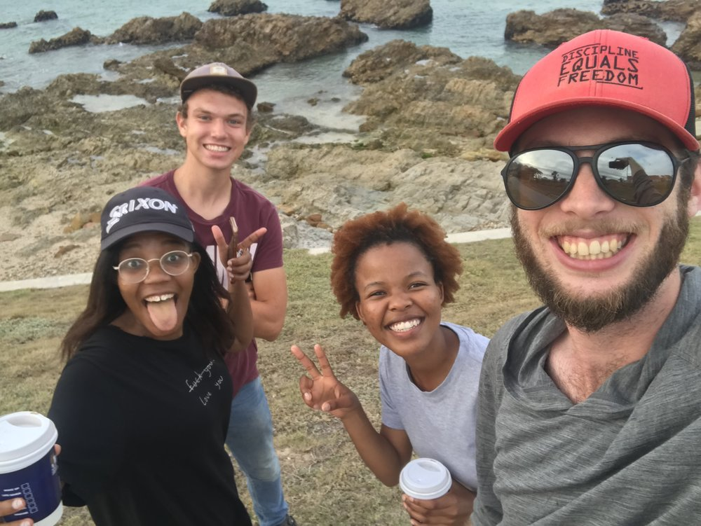 Fun with some locals in South Africa.