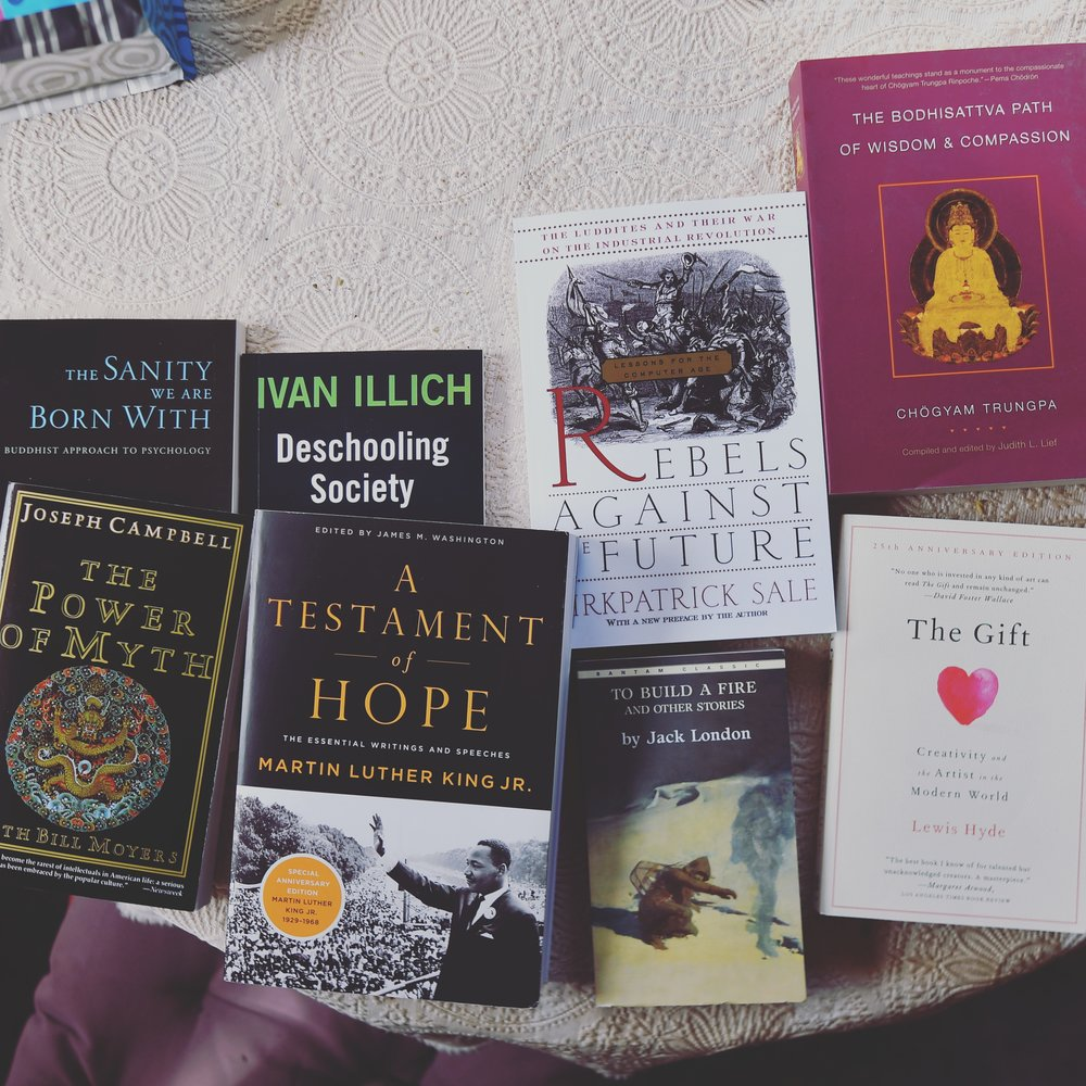 All of these books are good.
