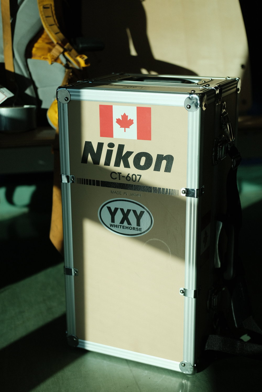 The 600mm trunk case.