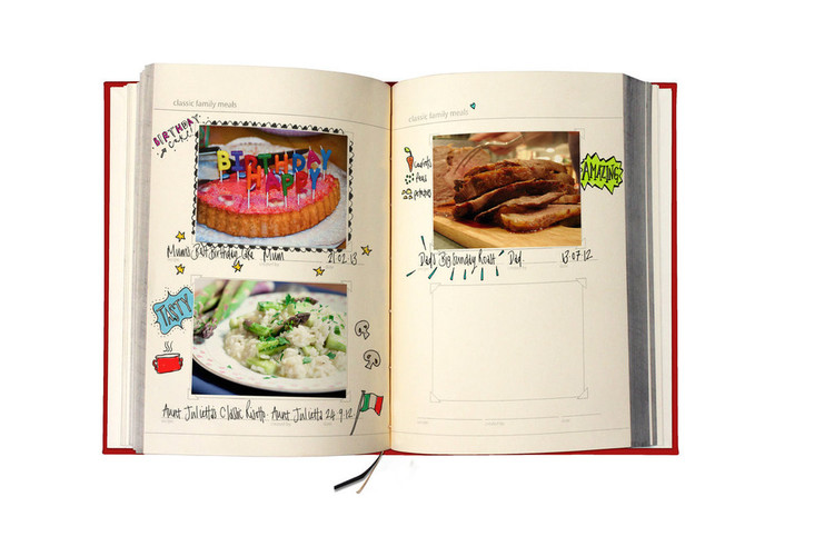 my family cookbook harmony designs