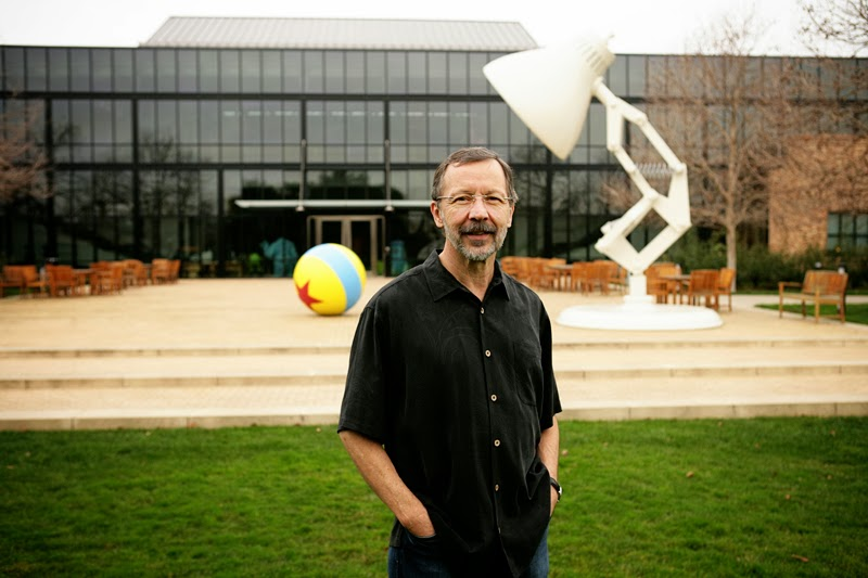 Ed Catmull, co- founder of Pixar and author of   Creativity, Inc: Overcoming the Unseen Forces that Stand in the Way of True Inspiration.  ( image source)