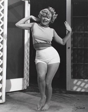 Marilyn Monroe image from Flavorwire