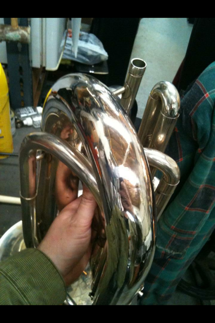 Baritone bell crook: After