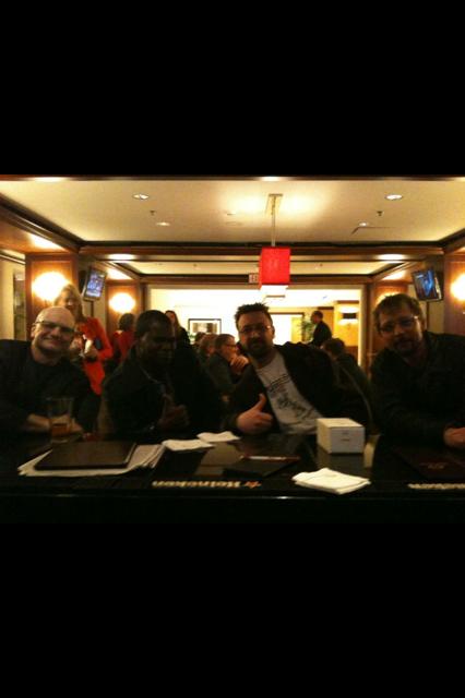 L to R: Chase Sanborn, Matt Stewart, Chris Cromer, Dave Lotozo at NTC