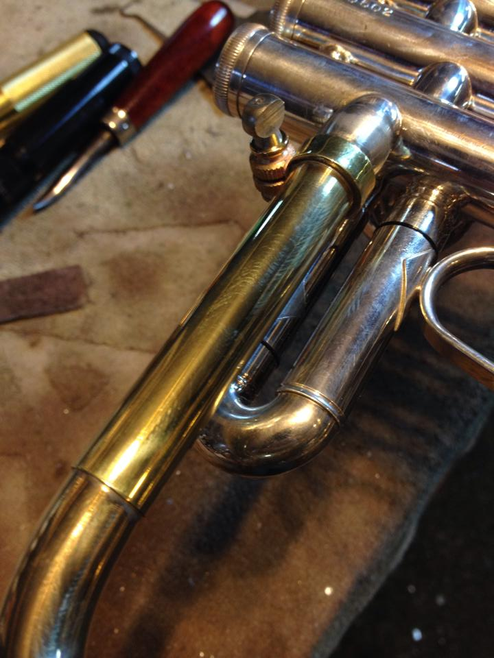Tuning bell conversion: slide tubes