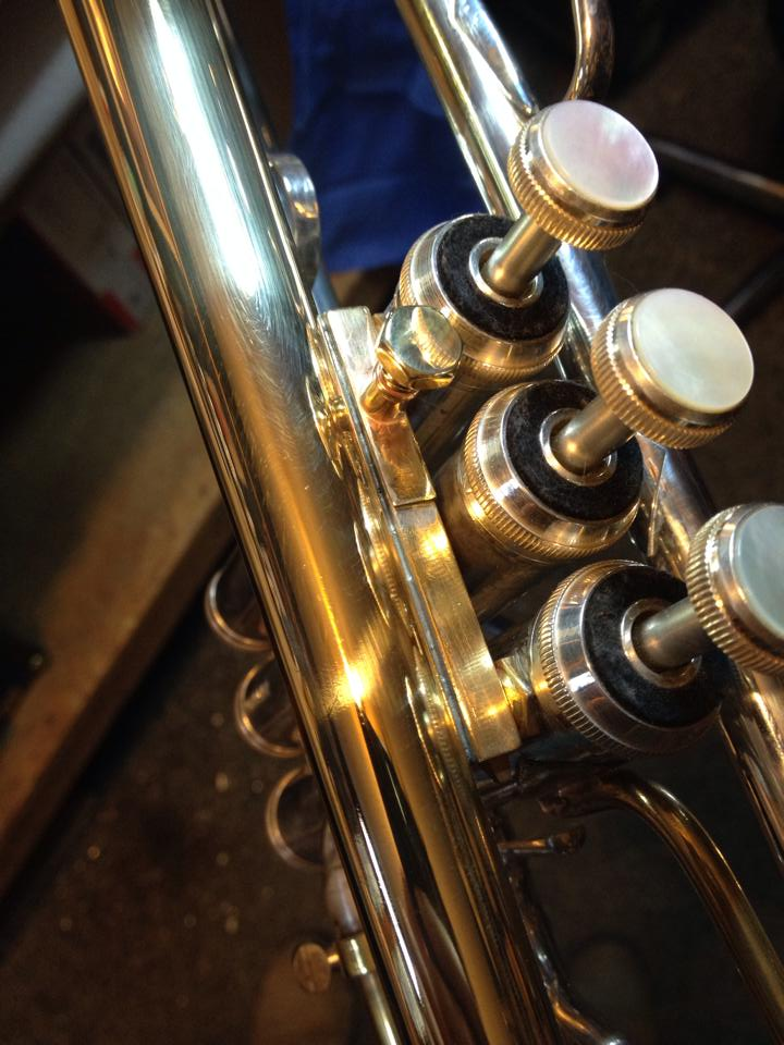 Tuning bell conversion: Bell rail