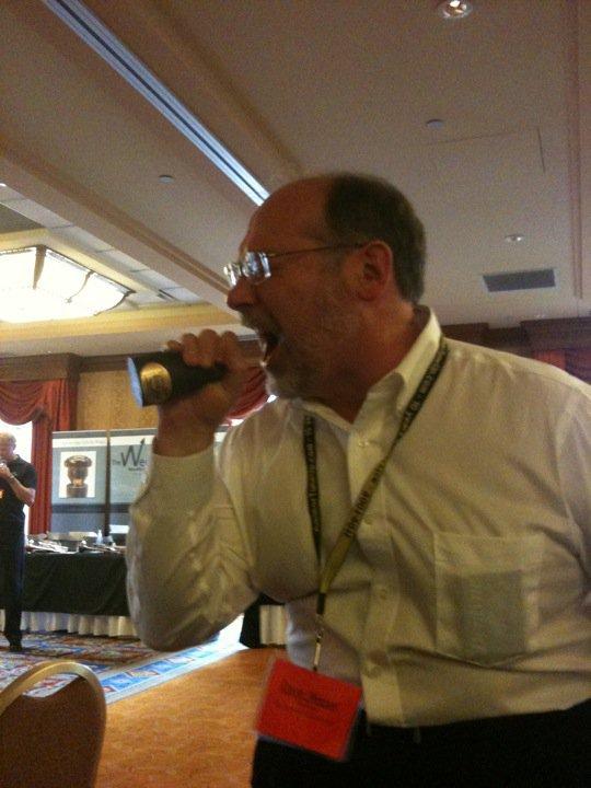 Dave Weiner checking mutes