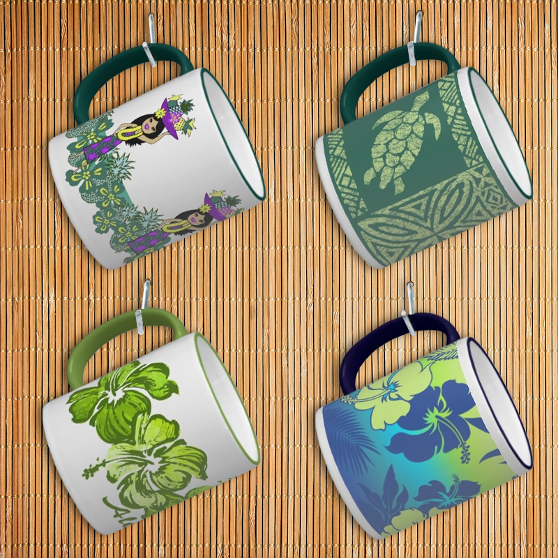 Hawaiian Mugs
