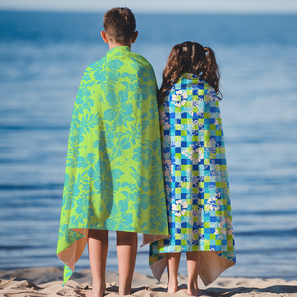 Hawaiian & Tropical Beach Towels