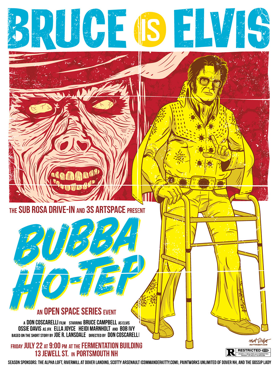 Bubba Ho-Tep Poster by Matt Talbot