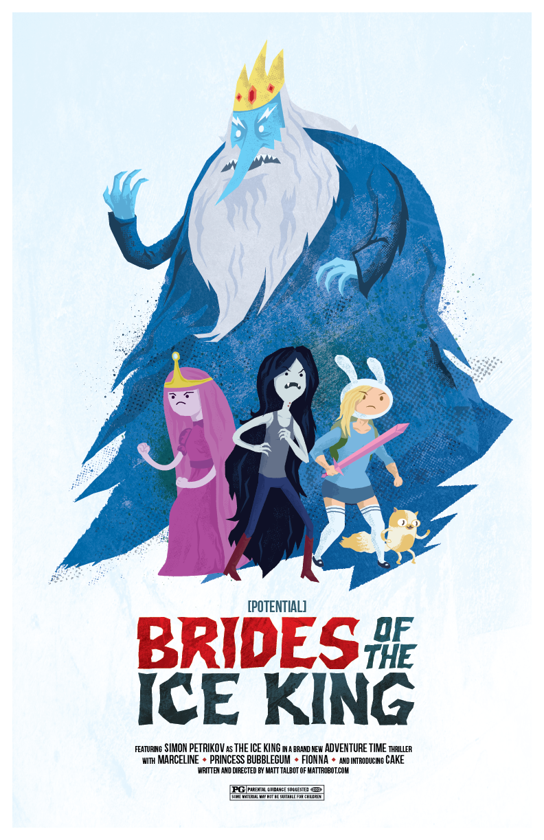 Adventure Time Brides of the Ice King poster