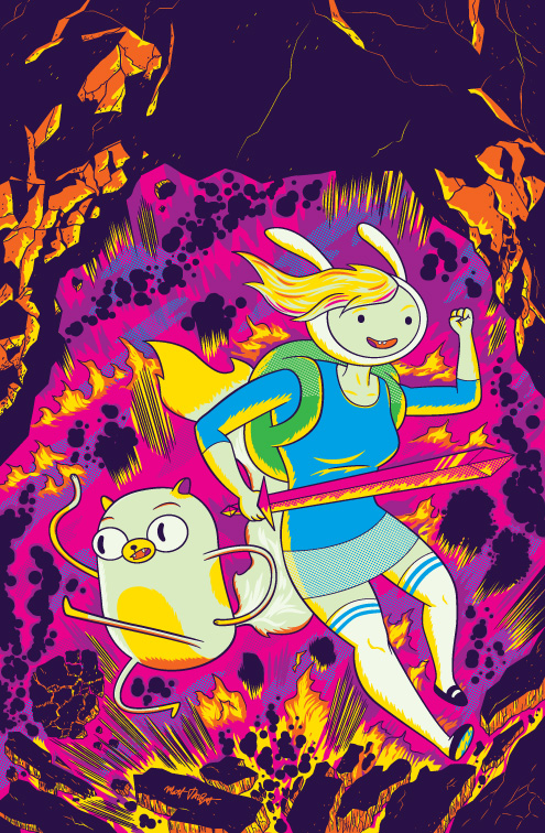 Fionna and Cake Issue 5 cover by Matt Talbot