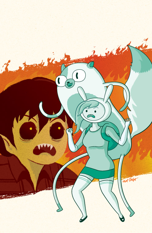 Fionna and Cake Issue 4 cover by Matt Talbot