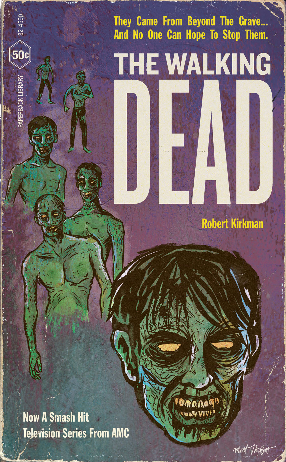 The Walking Dead Paperback Cover by Matt Talbot