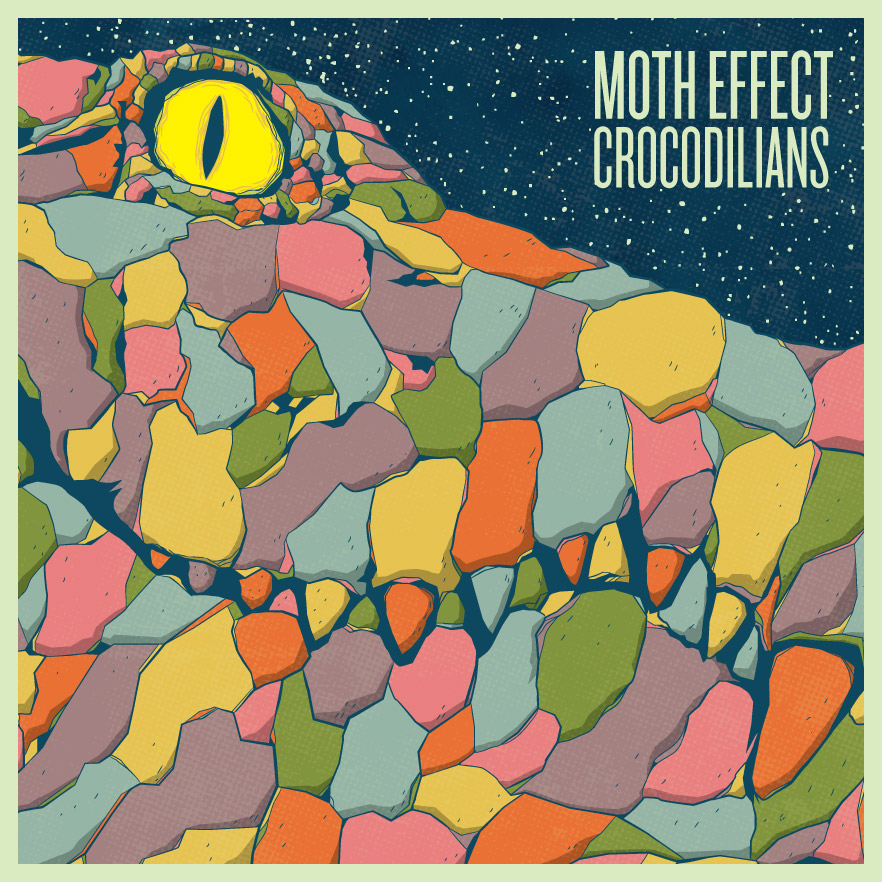 Moth Effect album cover by Matt Talbot