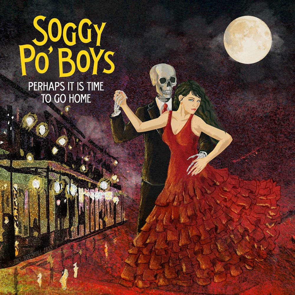 Soggy Po Boys album cover by Matt Talbot