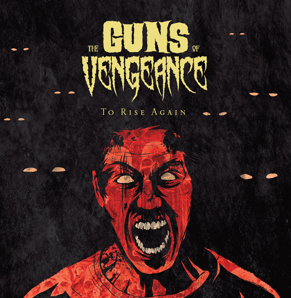 Guns of Vengeance album cover by Matt Talbot