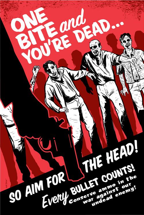 Zombie Propaganda Poster