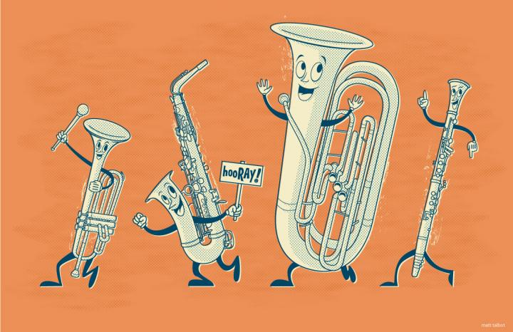 Marching Band Drawing Marching Band Jpg