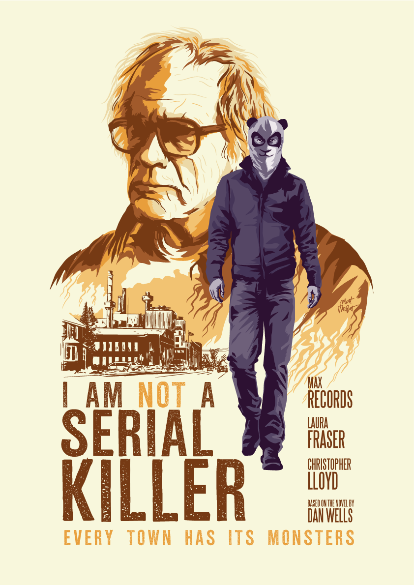I Am Not A Serial Killer alternative poster by Matt Talbot