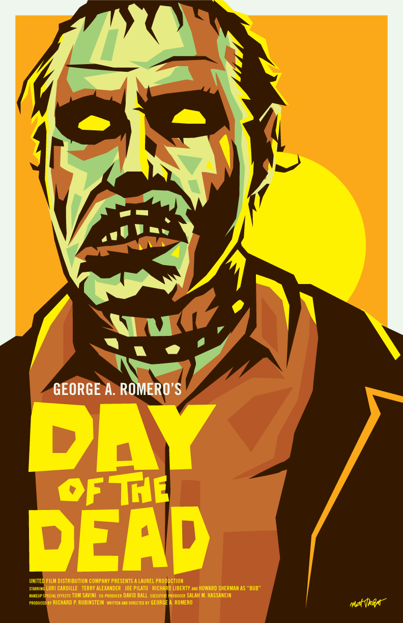 Day of the Dead poster by Matt Talbot