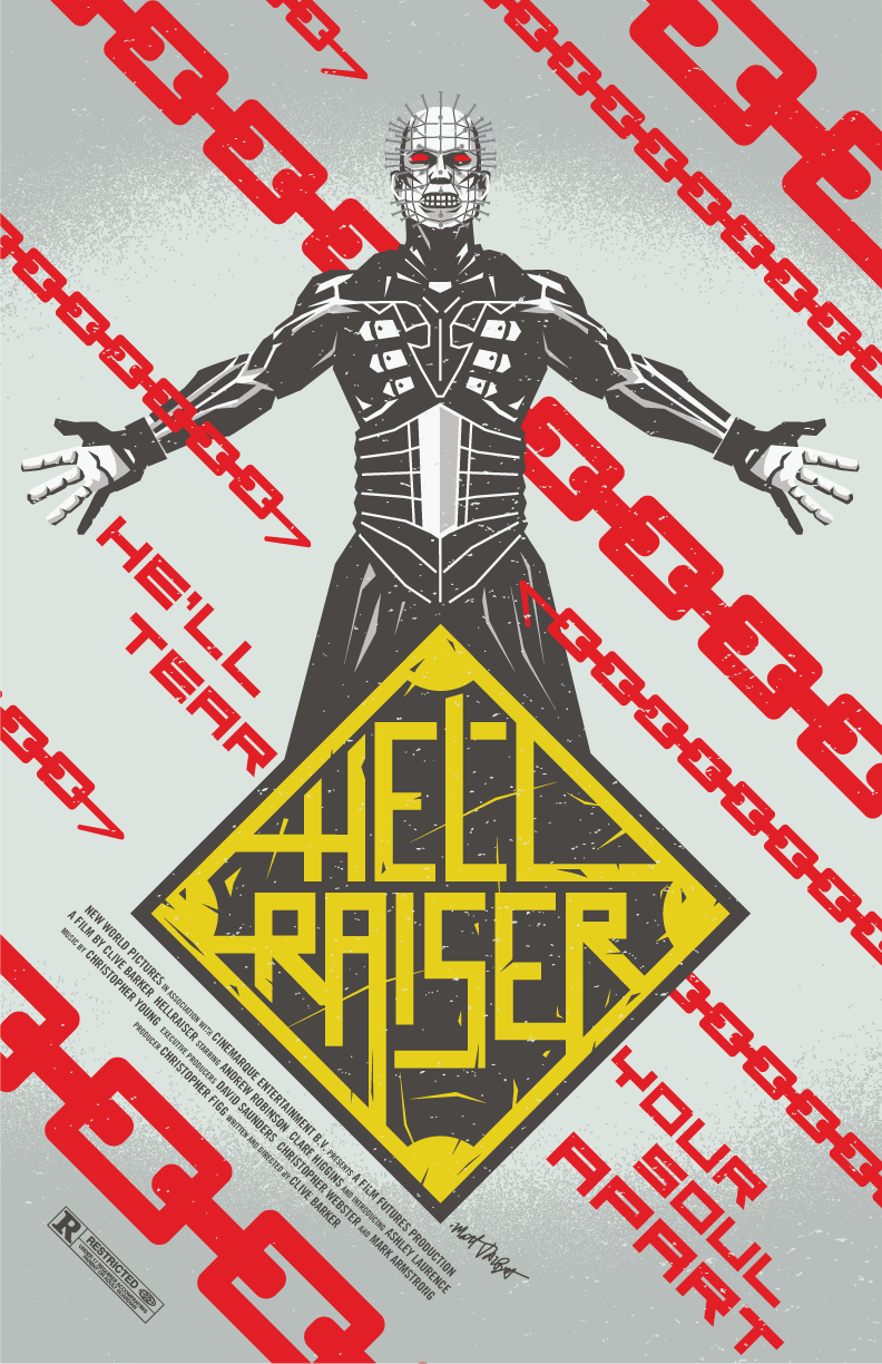 Hellraiser poster by Matt Talbot