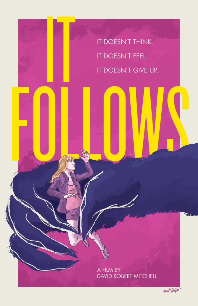 It Follows poster by Matt Talbot