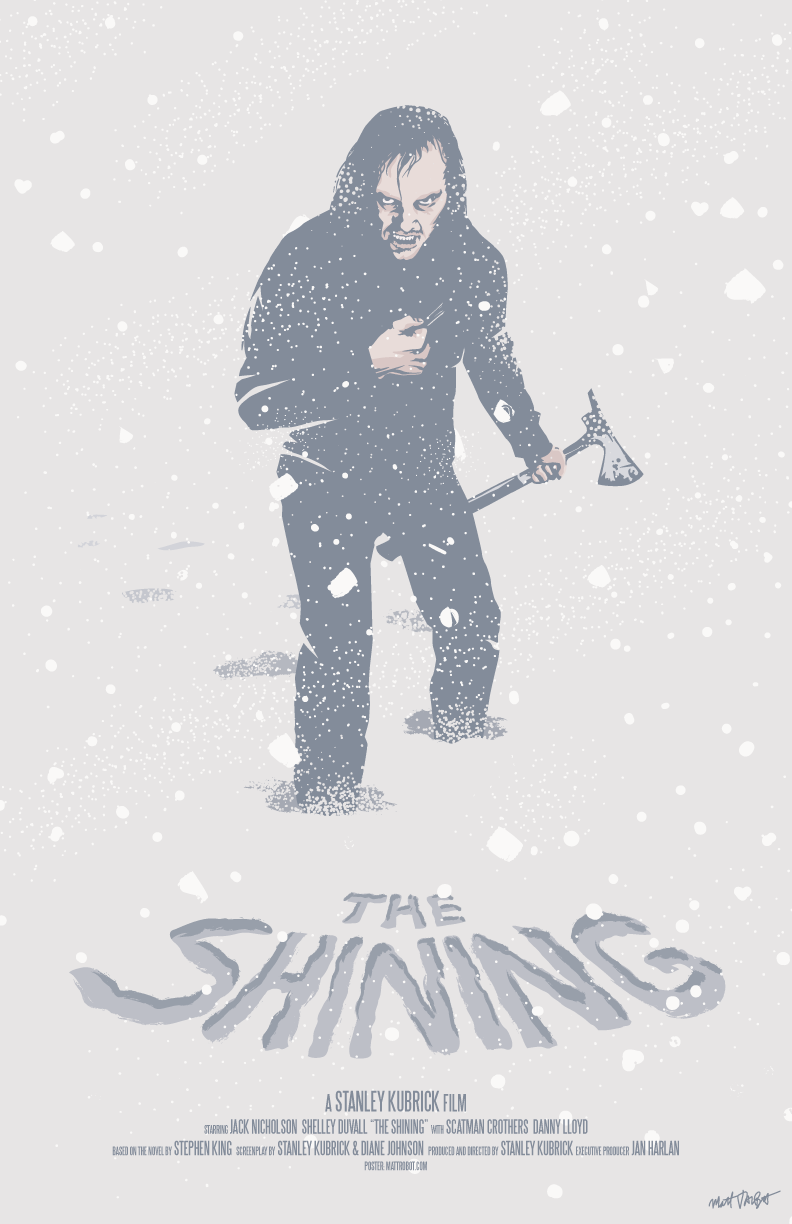 The Shining poster by Matt Talbot